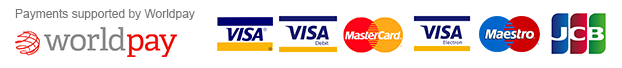 Payments supported by worldpay